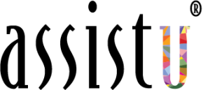 AssistU - changing work, changing lives logo